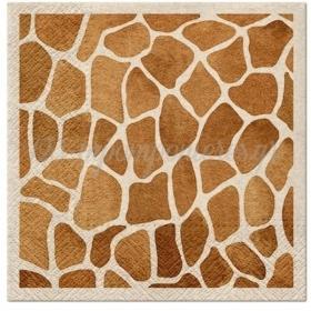 Χαρτοπετσετες Σαφαρι Καμηλοπαρδαλη 33Cm - ΚΩΔ:Sdle030400-Bb