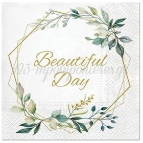 Χαρτοπετσετες Beautiful Day Frame 33Cm - ΚΩΔ:Sdl127800-Bb