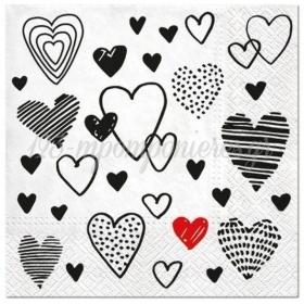 ΧΑΡΤΟΠΕΤΣΕΤΕΣ CRAZY LOVE 33cm - ΚΩΔ:SDL093800-BB
