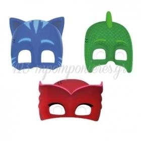 Μασκες Με Κοπτικο Pj Masks - ΚΩΔ:89351-Bb