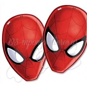 Μασκες Με Κοπτικο Spiderman - ΚΩΔ:85179-Bb