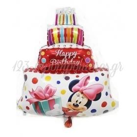 Μπαλονι Foil 59X85Cm Super Shape Mickey & Minnie Κοκκινη Τουρτα – ΚΩΔ.:207103-Bb