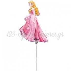 """Μπαλονι Foil 13""""(33Cm) Mini Shape Ωραια Κοιμωμενη Disney - ΚΩΔ:528476-Bb"""