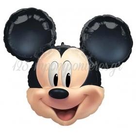 Μπαλονι Foil 63X55Cm Mickey Mouse Κεφαλι - ΚΩΔ:540978-Bb