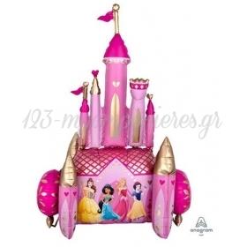 Μπαλονι Foil 88X139Cm Airwalker Καστρο Με Τις Πριγκιπισσες Disney - ΚΩΔ:539807-Bb