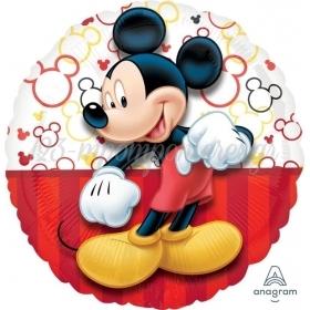 """Μπαλονι Foil 17""""(43Cm) Mickey Mouse - ΚΩΔ:530645-Bb"""