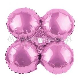"""Μπαλονι Foil Για Γιρλαντα 16""""(40Cm) Ανοιχτο Ροζ- ΚΩΔ:206098-Bb"""