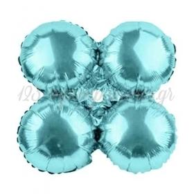 """Μπαλονι Foil Για Γιρλαντα 16""""(40Cm) Ανοιχτο Μπλε - ΚΩΔ:206097-Bb"""