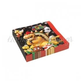 Χαρτοπετσετες Super Mario 33X33Cm - ΚΩΔ:9901538-Bb