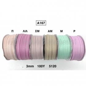 Κορδελα Γκρο 3Mmx91.5M - ΚΩΔ:A167-Rn