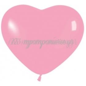 Bubble Gum Ροζ Μπαλονια Καρδιες 12΄΄ (30Cm) – ΚΩΔ.:13512009Η-Bb