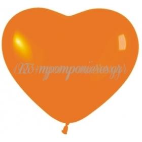 Crystal Πορτοκαλι Μπαλονια Καρδιες 12΄΄ (30Cm) – ΚΩΔ.:13512361Η-Bb