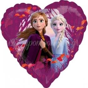 Μπαλονι Foil 18''(45Cm) Καρδια Frozen 2 - ΚΩΔ:540449-Bb