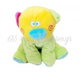 Λουτρινο Πολυχρωμο Αρκουδακι 25Cm - ΚΩΔ:84208Sη1315-1-Bb