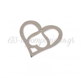 Ξυλινη Καρδια 5Cm - ΚΩΔ:Nk302-2-Nu