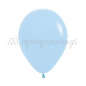 Μπαλονι Λατεξ 5''(13Cm) Γαλαζιο Pastel Matte - ΚΩΔ:13506640-Bb
