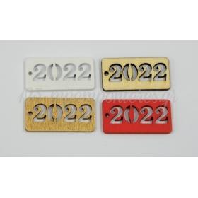 ΞΥΛΙΝΟ ΤΑΜΠΕΛΑΚΙ 2022 4x2cm - ΚΩΔ:518033