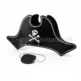 Πειρατικο Καπελο Και Καλυμμα Ματιου - ΚΩΔ:Cpp17-Bb