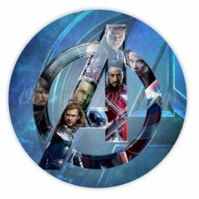 Αυτοκολλητο Avengers 10Cm - ΚΩΔ:5531121-21-10-Bb