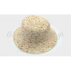 Καπελο Ψαθινο Παιδικο-Γυναικειο Bucket 52Cm - ΚΩΔ:513099