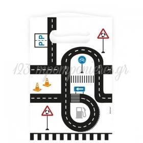 Σακουλακια Για Δωρακια On The Road 23.4X16.2Cm - ΚΩΔ:9906585-Bb