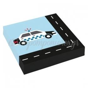 Χαρτοπετσετες On The Road 33X33Cm - ΚΩΔ:9906580-Bb