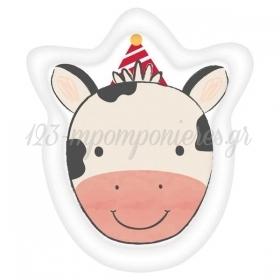 Χαρτινα Πιατα Παρτυ Σχηματικα Αγελαδιτσα 17.7Cm - ΚΩΔ:432172-Bb