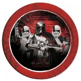 Χαρτινα Πιατα Φαγητου Star Wars 23Cm - ΚΩΔ:88548-Bb