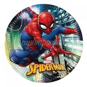 Χαρτινα Πιατα Φαγητου Spiderman Team Up 23Cm - ΚΩΔ:89445-Bb
