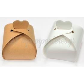 Χαρτινο Κουτι Κλεισιμο Καρδια 7Cm - ΚΩΔ:506220