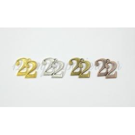 ΜΕΤΑΛΛΙΚΟ ΚΡΕΜΑΣΤΟ 22 ΜΕΓΑΛΟ 2.3cm - ΚΩΔ:517931