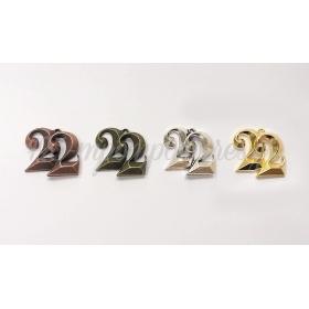 ΜΕΤΑΛΛΙΚΟ 3D 22 2.5cm - ΚΩΔ:517936