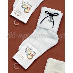 Καλτσακια Βρεφικα Αγκυρα Εως 18 Μηνων - Ζευγαρι - ΚΩΔ:223-Ad