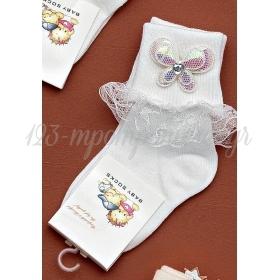 Καλτσακια Βρεφικα Πεταλουδα Εως 18 Μηνων - Ζευγαρι - ΚΩΔ:265-Ad