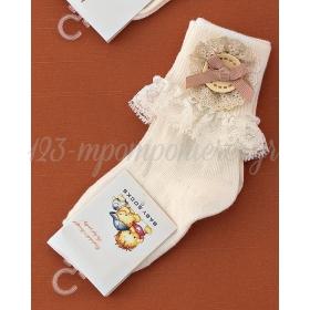 Καλτσακια Βρεφικα Κουμπι Εως 18 Μηνων - Ζευγαρι - ΚΩΔ:334-Ad