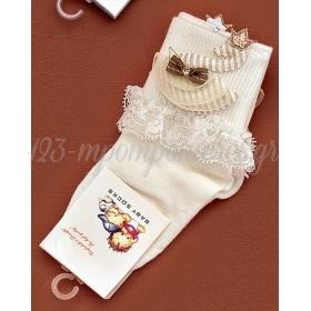 Καλτσακια Βρεφικα Κυκνος Εως 18 Μηνων - Ζευγαρι - ΚΩΔ:351-Ad