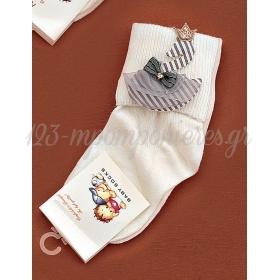 Καλτσακια Βρεφικα Κυκνος Εως 18 Μηνων - Ζευγαρι - ΚΩΔ:353-Ad