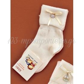 Καλτσακια Βρεφικα Συννεφακι Εως 18 Μηνων - Ζευγαρι - ΚΩΔ:365-Ad