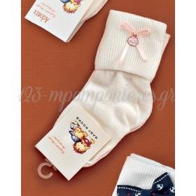 Καλτσακια Βρεφικα Συννεφακι Εως 18 Μηνων - Ζευγαρι - ΚΩΔ:366-Ad