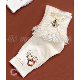 Καλτσακια Βρεφικα Κυκνος Εως 18 Μηνων - Ζευγαρι - ΚΩΔ:372-Ad