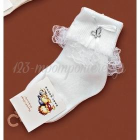Καλτσακια Βρεφικα Πεταλουδα Εως 18 Μηνων - Ζευγαρι - ΚΩΔ:381-Ad