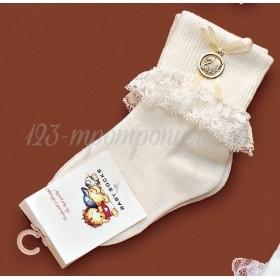 Καλτσακια Βρεφικα Κυκνος Εως 18 Μηνων - Ζευγαρι - ΚΩΔ:387-Ad