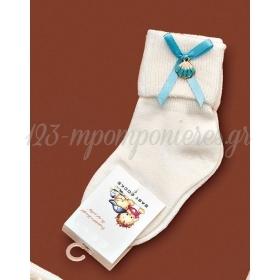 Καλτσακια Βρεφικα Κοχυλι Εως 18 Μηνων - Ζευγαρι - ΚΩΔ:394-Ad