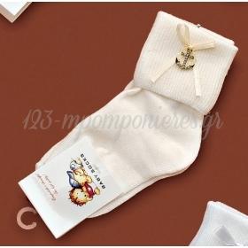 Καλτσακια Βρεφικα Αγκυρα Εως 18 Μηνων - Ζευγαρι - ΚΩΔ:401-Ad