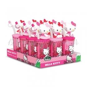 Ποτηρακι Με Καλαμακι Και Καραμελακια Hello Kitty - ΚΩΔ:44201-Cr