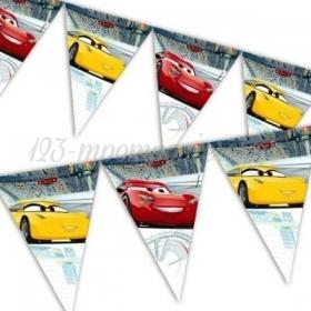 ΤΡΙΓΩΝΙΚΑ ΣΗΜΑΙΑΚΙΑ CARS 3 230cm - ΚΩΔ:87805-BB