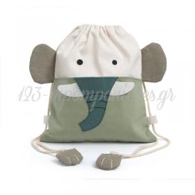 Σακιδιο Πλατης Ελεφαντακι 26Χ30Cm - ΚΩΔ:292001-Pr