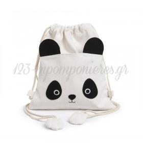 Σακιδιο Πλατης Panda 26Χ30Cm - ΚΩΔ:292004-Pr