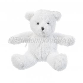 Λουτρινο Αρκουδακι Λευκο 19Χ15Cm - ΚΩΔ:292024-Pr