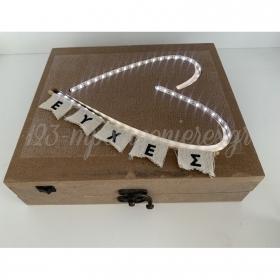 Κουτι Για Ευχες Με Led Φωτιζομενη Καρδια - ΚΩΔ:Rn0000Ls6-Rn